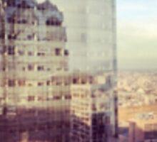 Philly Reflection Shot Sticker