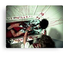 Strangle Canvas Print