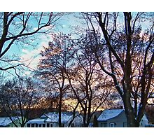 A White Thanksgiving Photographic Print