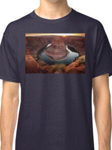 Horseshoe Bend Sunset Classic T-Shirt