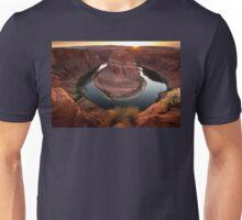 Horseshoe Bend Sunset Unisex T-Shirt