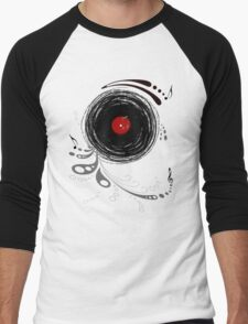Vinylized! - Vinyl Records  Men's Baseball ¾ T-Shirt