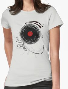 Vinylized! - Vinyl Records  Womens Fitted T-Shirt