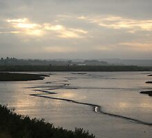 Looking back towards Burnham Overy by YorkshireMonkey