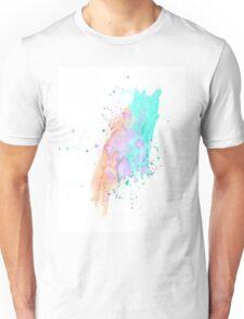 WATERCOLOUR SPLATTER DESIGN 1 Unisex T-Shirt