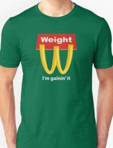 McDonalds Funny Weight I'm Gainin' It Unisex T-Shirt