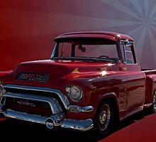 1955 GMC 100 Pickup Truck by TeeMack