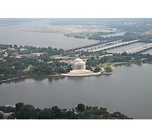 Washington DC Jefferson Memorial Photographic Print