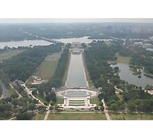 Washington DC Lincoln Memorial Photographic Print