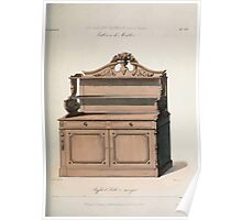 Le Garde Meuble Desire Guilmard 1839 0145 High Style Case Furniture Interior Design Poster