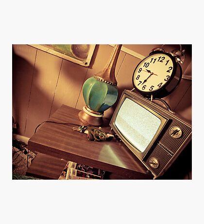 Time In Retro Photographic Print