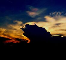 Two Angel's Soaring in this Amazing Sunset by Princess1222