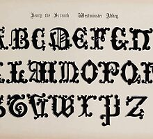 The Signist's Book of Modern Alphabets Freeman F Delamotte 1906 0157 Henry the Seventh Westminster Abbey by wetdryvac