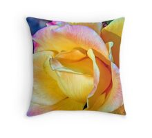 November Flame Throw Pillow