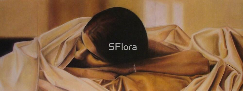 Sleep (Detail) by Sukhwinder Flora