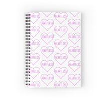 Heartless Spiral Notebook