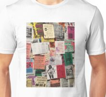 Riot Grrrl Fliers (1996) Unisex T-Shirt