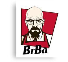 Breaking Bad KFC SPOOF Canvas Print