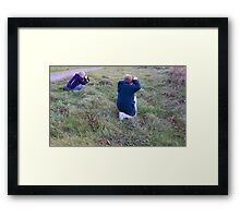 What DO They See? Framed Print