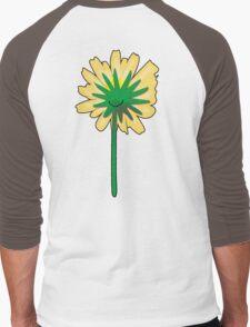Flower back. Men's Baseball ¾ T-Shirt