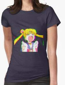 Sailor Glitch Womens Fitted T-Shirt