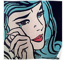 pop art halsey Poster