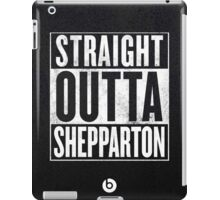 Straight Outta Shepparton iPad Case/Skin