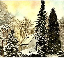 Wintertime in Germany by Marie Luise  Strohmenger