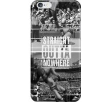 "WWE Randy Orton RKO ""Straight Outta Nowhere"" WrestleMania 30 iPhone Case/Skin"