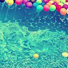 Un arcoiris de globos by Constanza Caiceo