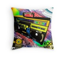 I wanna Rock wiht you all night Throw Pillow