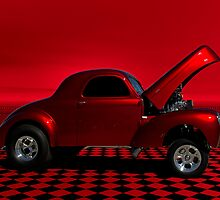 "1940 Willys ""Hemi Powered"" Dragster by TeeMack"