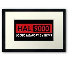 HAL 9000 - A Space Odyssey Framed Print