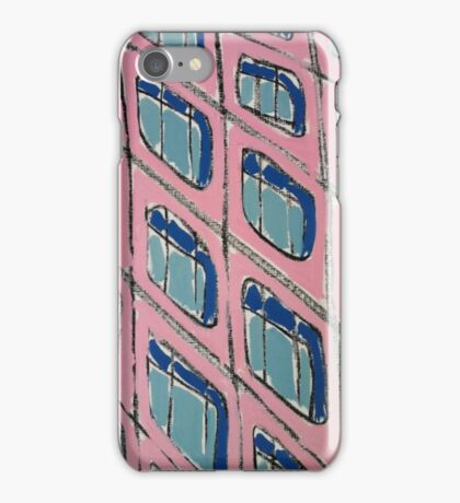 """Painting: """"City V (2011)"""" by artcollect iPhone Case/Skin"""