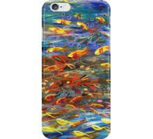 Busy Reef Fish iPhone Case/Skin