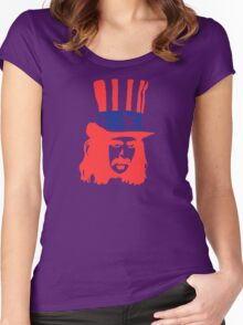 Frank Zappa Shirt Women's Fitted Scoop T-Shirt