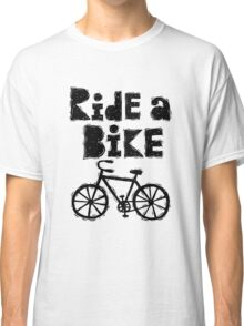 Ride a Bike - woody Classic T-Shirt
