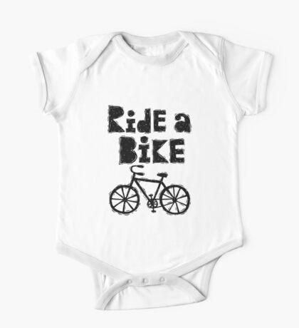 Ride a Bike - woody One Piece - Short Sleeve