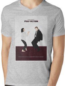 Pulp Fiction 2 Mens V-Neck T-Shirt