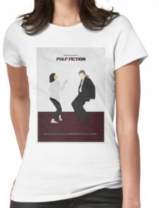 Pulp Fiction 2 Womens Fitted T-Shirt