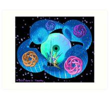 Dimensional Genesis - a fractal artwork Art Print