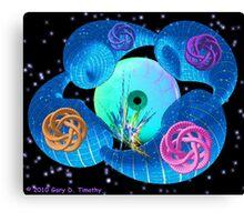 Dimensional Genesis - a fractal artwork Canvas Print