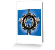 Business Thru and Thru Greeting Card