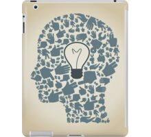 Head of hands3 iPad Case/Skin