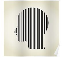 Head stroke a code Poster