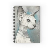 Sphinx Cat Spiral Notebook