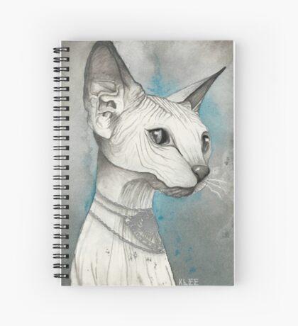 Sphinx Cat Spiral Notebook