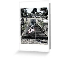 Forgotten Memorial Greeting Card