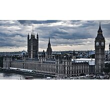 The Houses Of Parliament Photographic Print