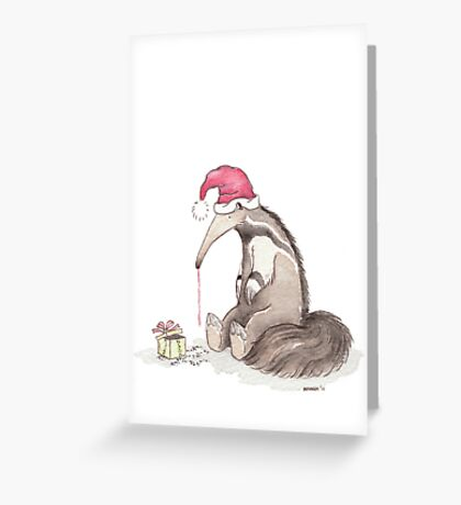 A Happy Day for Mr. Anteater Greeting Card